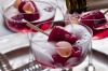 Rosewater and raspberry ice with sparkling wine: a fuss-free summery Christmas dessert. <a ...