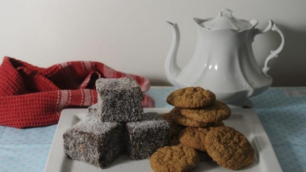 Australian classics: Lamingtons and Anzacs will have their own judging category in this year's Royal Canberra Show.