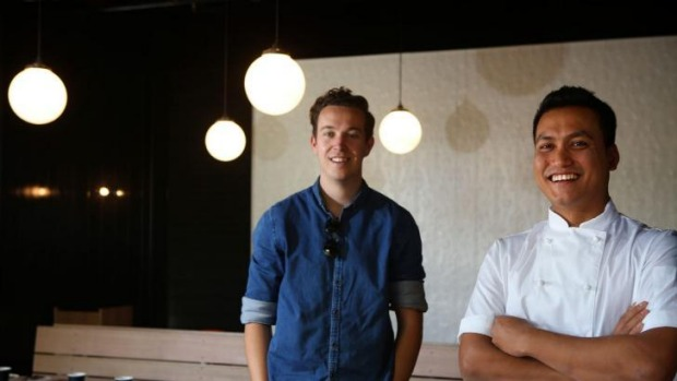 Coming soon: Owner Nicholas Gurney and chef Tapos Singa at Bang in Surry Hills.
