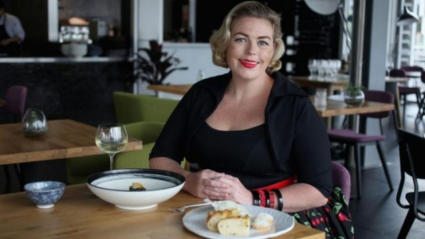 Steering the ship: New Sydney Morning Herald Good Food editor and Italian food lover Myffy Rigby eating out at LuMi Bar ...