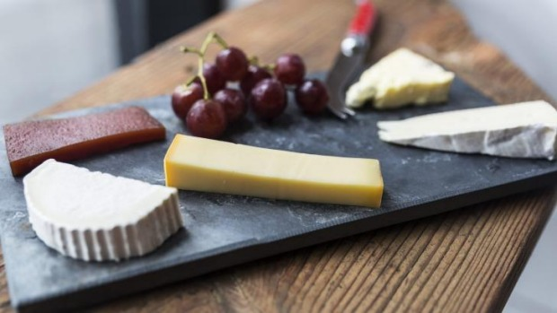 Cheese please: a cheeseboard at Shifty Chevre.