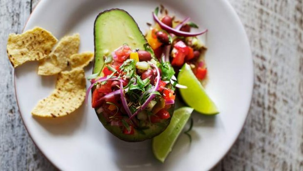 This avocado salad takes inspiration from the popular dip guacamole.