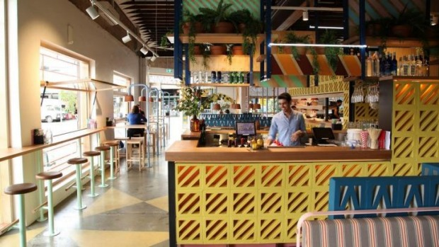 Colourful: inside Fonda Mexican's newest location.
