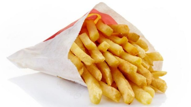 McDonald's French fries.