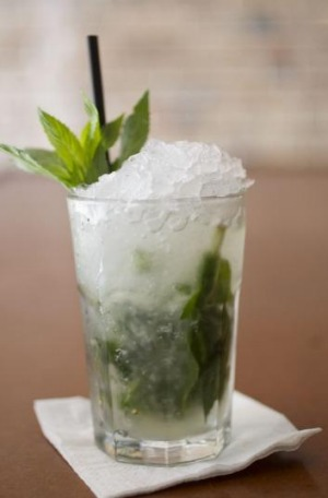 A Mojito from The Cuban Place.