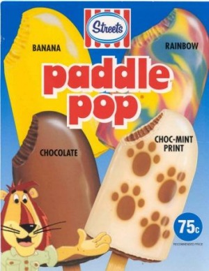 Streets sparked storm when it tweaked the formula for its  banana Paddle Pop.
