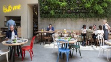 Bright and breezy: St Hotel plugs a big hole in the St Kilda scene.