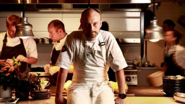 Chef Nicolas Poelaert pictured at Brooks in 2013.
