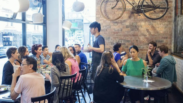 Think of Boon as a sort of Thai-flavoured Cafe Sopra.