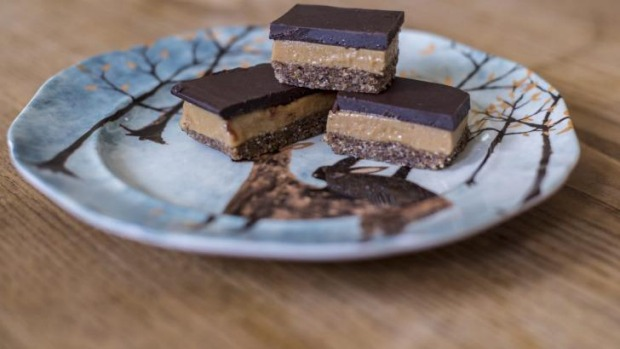 Arabella's caramel slice: You can enjoy healthier options when it comes to snack time.