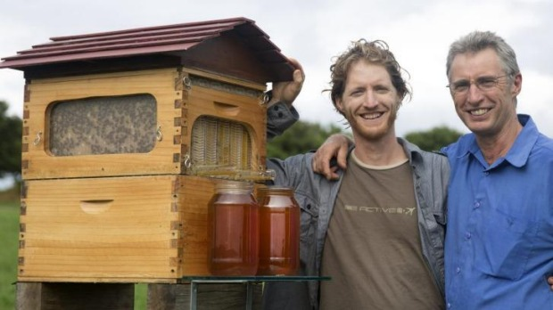 Sweet Success: Father And Son Inventors Cedar (left) And Stuart Anderson  Are Set