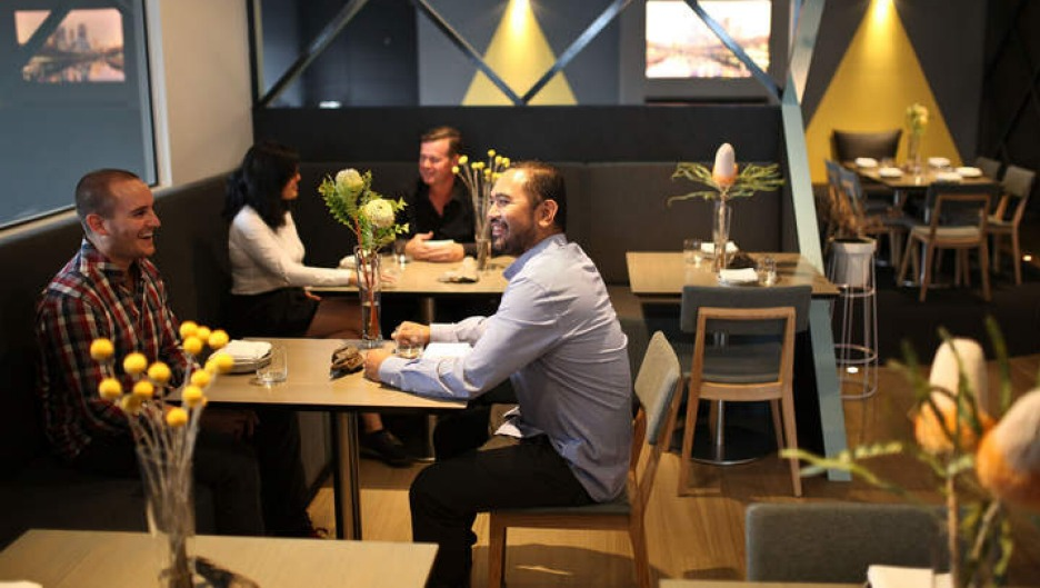 Rejuvenated: The Highline restaurant has been freshly kitted out.