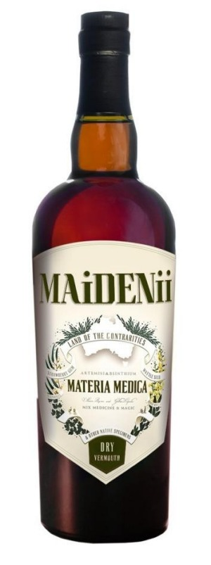 Leading the charge: Maidenii Australian vermouth.