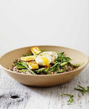 Recipes from healthy body by sally matterson savoury super food bowl with poached egg forumfinder Gallery