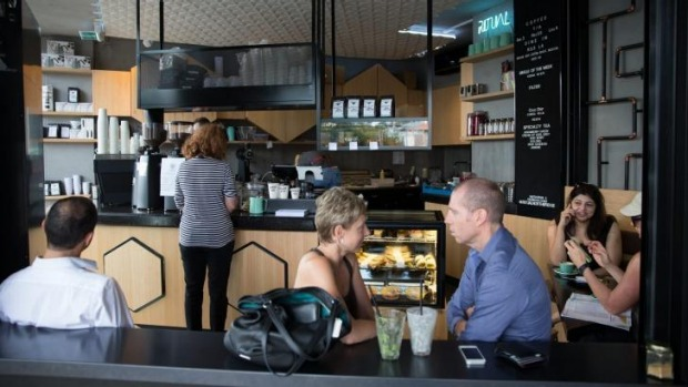 Northbridge newbie: Ritual Coffee Traders in home to everything raw and vegan.