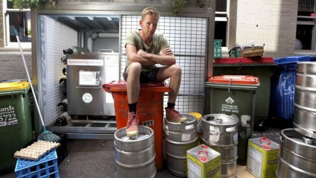 Joost Bakker,  owner of Brothl, a zero-waste restaurant, is closing next week after a long running dispute with ...