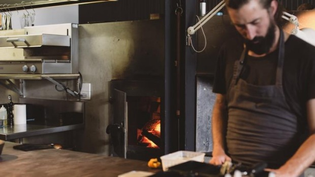 David Moyle and Franklin's Scotch oven.