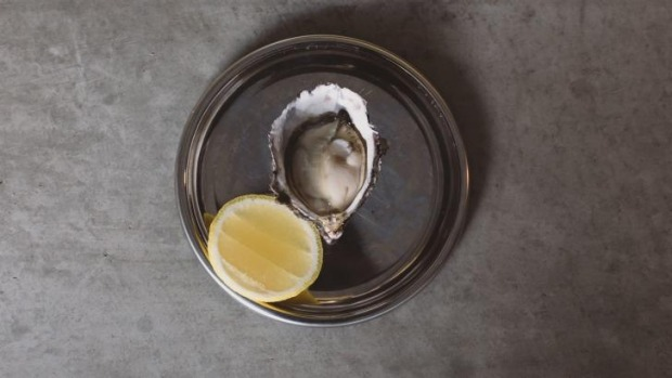 Pacific oyster served without fuss at Franklin.