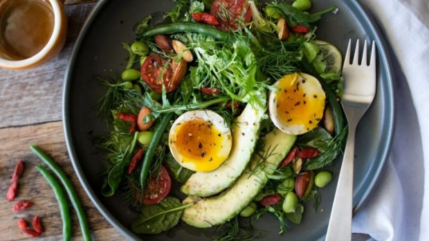 Make friends with salad: Breakfast salad packs a punch.