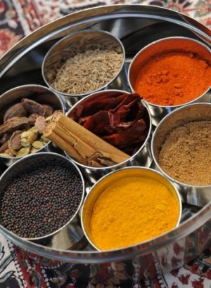The average Indian dish contains at least seven ingredients.