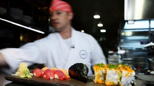 Shaun Presland has many tips and tricks for making sushi at home.