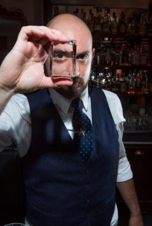 On the rocks: Michael Madrusan of the Everleigh in Fitzroy.
