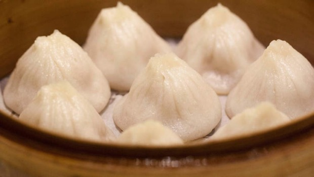 Xiao long bao (Shanghai steamed pork mini bun).