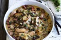 Chicken Braised with Mushrooms and Thyme