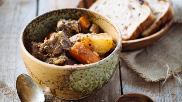 Brown butter beef stew