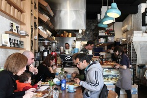 Studded with surprises: Cobb Lane bakery and cafe in Yarraville.