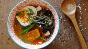 Warm and soothing, sip after sip: Breakfast miso.