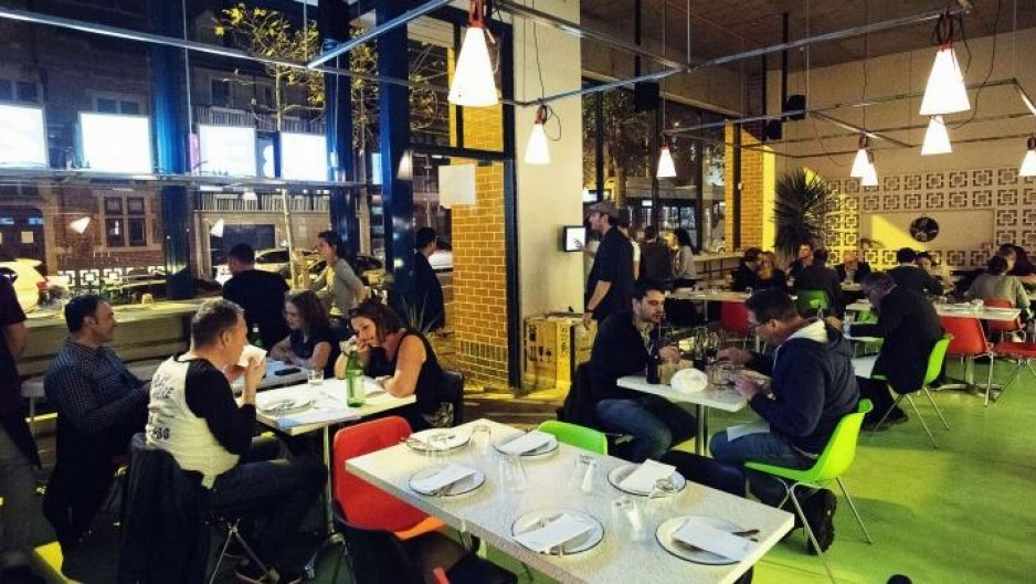Fun space: Besser in Surry Hills has a true Italian flavour.