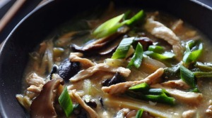Plenty of pepper: Sichuan hot and sour soup.