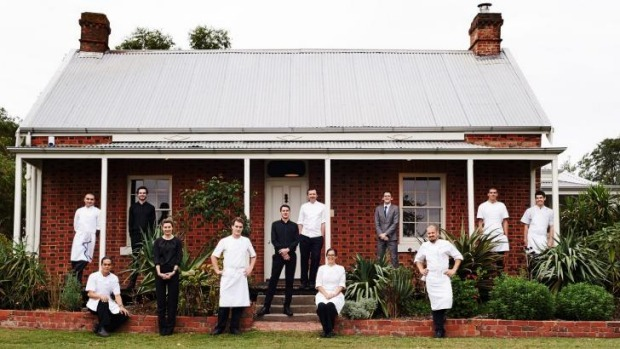 The team at Brae in Birregurra, Victoria.