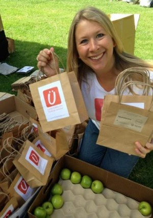 Katy Barfield created the Yume app to help customers find cheap food and minimise waste.