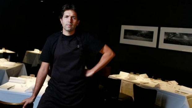 Chef Ben Shewry of Attica restaurant in Melbourne.