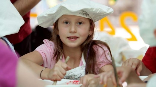 Cooking gives kids an opportunity to create and experiment in a safe environment.
