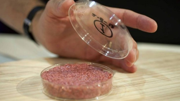 The world's first lab-grown beef burger was cooked in London in 2013. The in-vitro burger was cultured from cattle stem ...