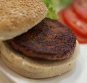 The world's first laboratory-grown beef burger was produced in 2013.