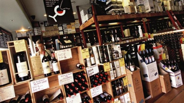 Big spender: A single customer spent $300,000 at Vintage Cellars in Double Bay recently.
