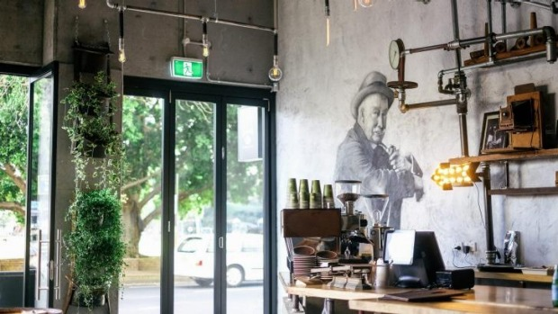 Local Mbassy cafe, Ultimo pays homage to revolutionaries and local hooligans of the 1920's.