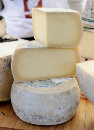 Cheese from the Sydney Morning Herald's Growers' Market at Pyrmont.
