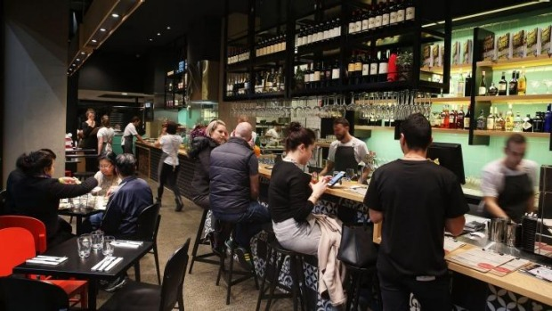 Get-in-get-out affair: Lucio Pizzeria in Zetland.