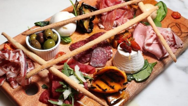 The platters are bursting with smoky flavours of meats, cheeses and charred vegetables.