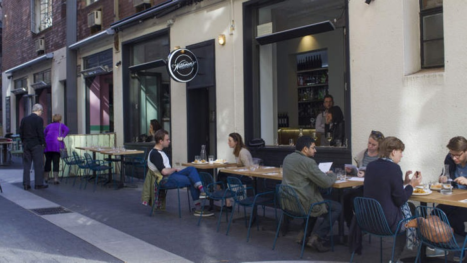 Open air: Waterman's Lobster Co in Potts Point.