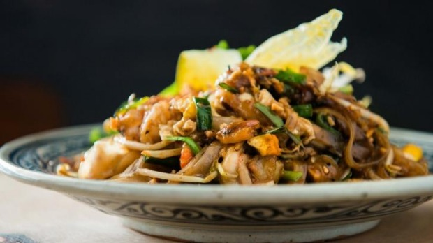 Thoroughly delicious: the Pad Thai.
