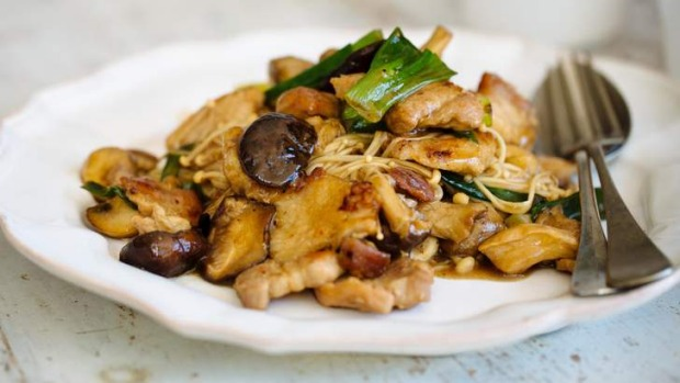 Versatile pork belly works well in a simple stir-fry.