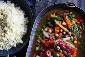 Neil Perry's vegetable tagine.