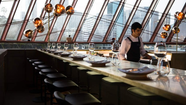 Luxury without linen: the Cured and Cultured Bar at Bennelong.