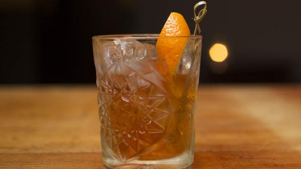 Cigar optional: the Agave Old Fashioned.